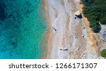 aerial drone overhead view of... | Shutterstock . vector #1266171307