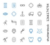 Eye Icons Set. Collection Of...