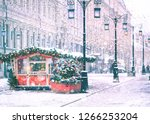 new year and christmas holiday... | Shutterstock . vector #1266253204