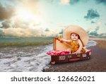 Funny Baby Girl Traveler...