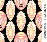 vector illustration. african... | Shutterstock .eps vector #1266282547