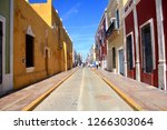 historic town of campeche mexico | Shutterstock . vector #1266303064