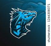Dragon Mascot Vector Logo...