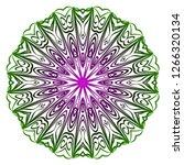 vector illustration. modern... | Shutterstock .eps vector #1266320134
