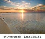 ocean sunset from horn island...   Shutterstock . vector #1266335161