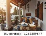 interior of beautiful luxury... | Shutterstock . vector #1266359647