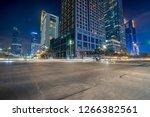 empty concrete floor and... | Shutterstock . vector #1266382561