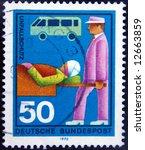 old postage stamp | Shutterstock . vector #12663859