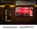 Small photo of NEW YORK- December 22 2018: The Stonewall Inn, site of the 1969 riots on Christopher St. President Obama designated the area around the iconic bar as the country