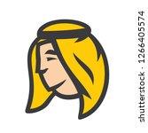 arabic man sign | Shutterstock .eps vector #1266405574