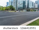 empty road in shenzhen town... | Shutterstock . vector #1266413551