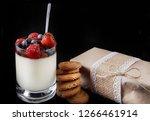 panakota creamy italian dessert ...   Shutterstock . vector #1266461914