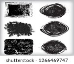 grunge post stamps collection ... | Shutterstock .eps vector #1266469747