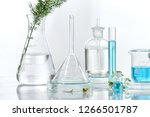 cosmetic laboratory research... | Shutterstock . vector #1266501787