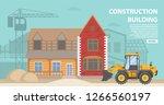 construction site.residential... | Shutterstock .eps vector #1266560197