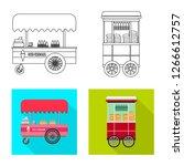 vector design of market and...   Shutterstock .eps vector #1266612757