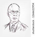sergei prokofiev famous vector... | Shutterstock .eps vector #1266622954