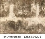 texture of old dirty concrete... | Shutterstock . vector #1266624271