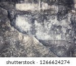 texture of old dirty concrete... | Shutterstock . vector #1266624274