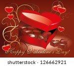 vector happy valentine's day... | Shutterstock .eps vector #126662921