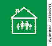 family sign illustration.... | Shutterstock .eps vector #1266660061