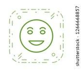 lol emoji vector icon sign icon ...   Shutterstock .eps vector #1266668857
