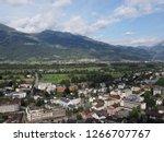 vaduz  liechtenstein on august... | Shutterstock . vector #1266707767