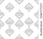 ethnic boho seamless pattern.... | Shutterstock .eps vector #1266717217