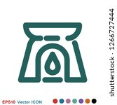 aromatherapy icon  accessory... | Shutterstock .eps vector #1266727444