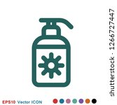 aromatherapy icon  accessory... | Shutterstock .eps vector #1266727447