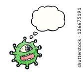 cartoon monster | Shutterstock .eps vector #126675191