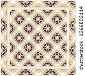 rectangular multicolored... | Shutterstock .eps vector #1266802114