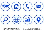 web icon. vector illustration | Shutterstock .eps vector #1266819061