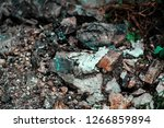 rocky surface characterised by... | Shutterstock . vector #1266859894