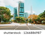 singapore  singapore   march 1  ... | Shutterstock . vector #1266886987