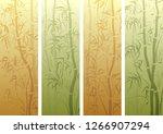 set of vertical banner with...   Shutterstock .eps vector #1266907294