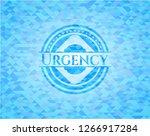 urgency sky blue emblem with...   Shutterstock .eps vector #1266917284
