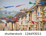 Row Of Terraced Houses With...