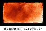 watercolor rectangle on black... | Shutterstock . vector #1266943717