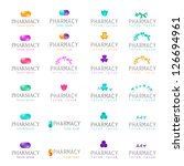 pharmacy icons set   isolated... | Shutterstock .eps vector #126694961