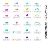 pharmacy icons set   isolated... | Shutterstock .eps vector #126694961