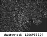vector map of the city of tokyo ... | Shutterstock .eps vector #1266955324