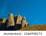italy  dolomite mountains  ... | Shutterstock . vector #1266958171