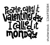 people called it valentine s... | Shutterstock .eps vector #1266958384