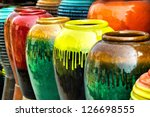 Colored Jars.