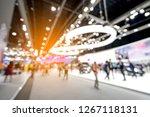 abstract blurred defocused...   Shutterstock . vector #1267118131