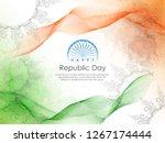 republic day celebration  26... | Shutterstock .eps vector #1267174444