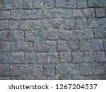 stone pattern on tile floor... | Shutterstock . vector #1267204537