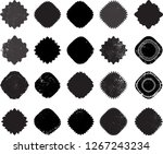 vector circle shape. round... | Shutterstock .eps vector #1267243234