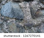 stone wall texture with cracks... | Shutterstock . vector #1267270141